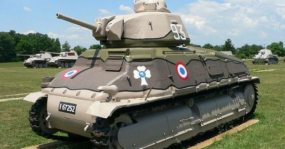 Check It Out – Top Facts About The French SOMUA S35 – The Ill-Fated Tank