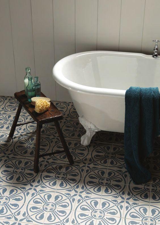 Cool bathroom tiles - change the entire mood of bathroom