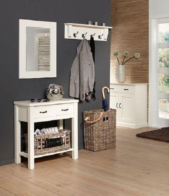 Interieuridee n hal grijs mooie kleur in de hal door barbelvandenberg opbergruimte - Kleur idee corridor ...