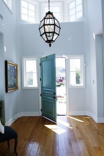 Foyer Paint Colors Sherwin Williams : Drizzle by sherwin williams entryway door to share info
