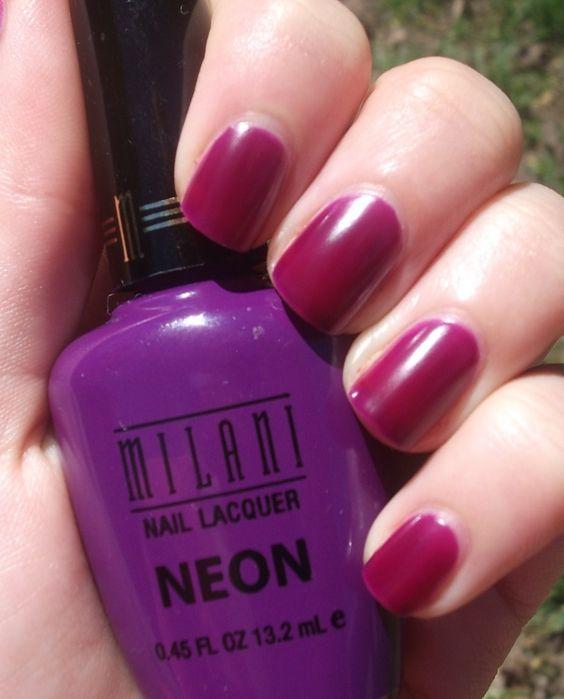 Color photo with milani nail polish