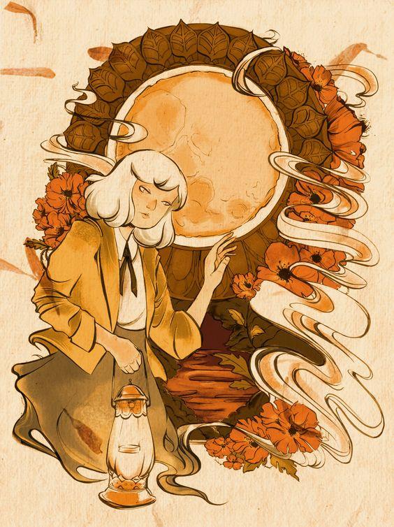 Harvest Moon by QuinneCL.deviantart.com on @deviantART