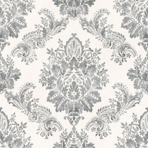 Tapete Barock Ornamente Pastell Glanz Rasch Grau 204834 Barock Tapete Tapeten Metallische Tapete