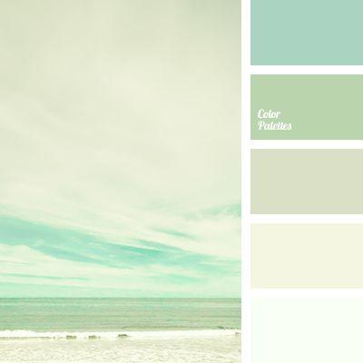 blanco y verde claro