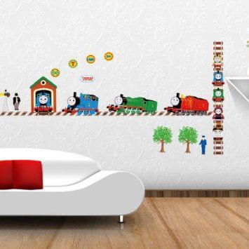 Amazon.com: Modern House Thomas Train And Friends Removable Vinyl Mural Art Wall  Sticker Decal: Home Improvement