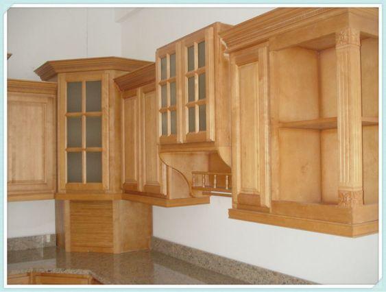 Dise os de gabinetes de cocina en madera buscar con - Disenos para muebles de madera ...