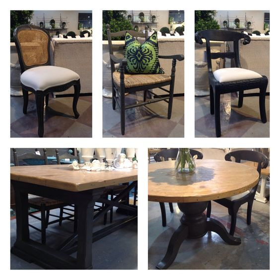 Trilogy's 'Rustic Citadel' Grey French inspired furniture.