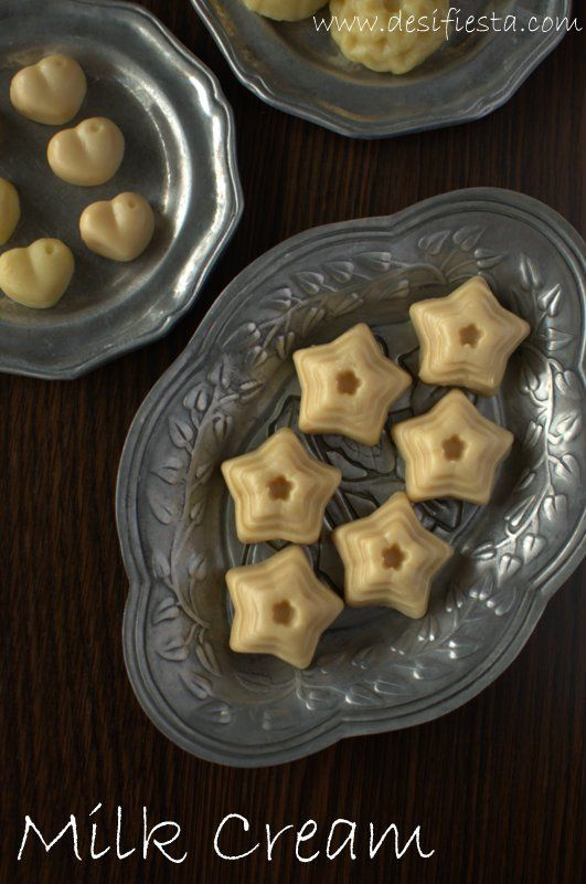 Milk Cream Or Milk Toffee Is A Very Famous Goan Sweets Which Is Always Found With Marzipan The Traditional Milk Tof Toffee Recipe Cream Recipes Almond Recipes