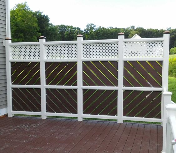 Deck privacy screen google search gardening outdoor for Deck privacy screen panels