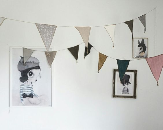 habitación bebé gris estilo nórdico