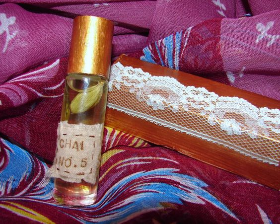 Chai Fragrance Chai N0. 5 Roll On Fragrance by NopalitoVintageMore