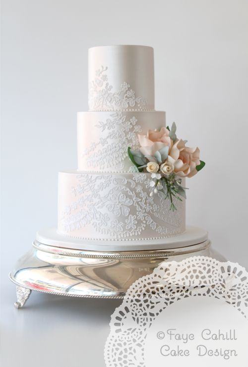 Beautiful lace embroidery