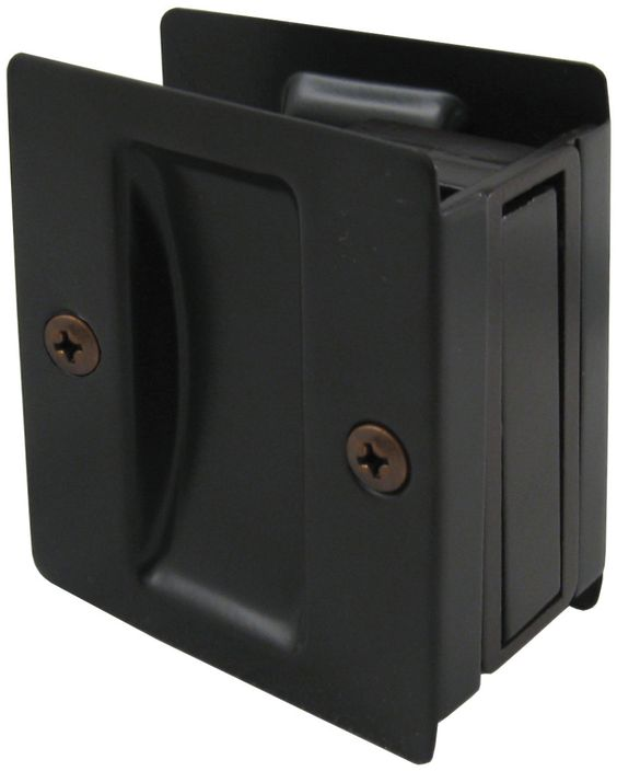 """Fits 1-3/8"""" to 1-3/4"""" thick doors. Lock measures 2-3/4"""" tall by 2-1/2"""" wide and requires a door cutout of 2-1/4"""" tall by 1-3/4 deep. Item Number: 820 Material: Zinc & Brass - 1-3/8"""" adjustable to 1-3/"""