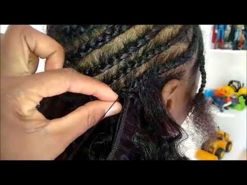 Como Colocar Mega Hair Entrelacado Facil Com Imagens