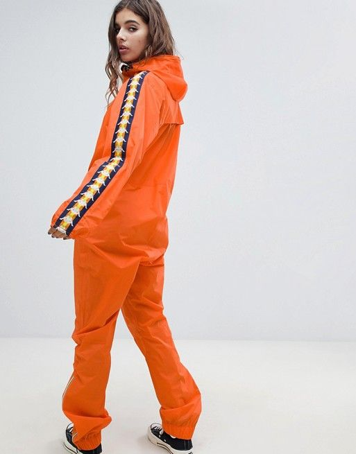 new arrival good looking so cheap K-Way X Kappa all in one waterproof in 2019 | Outfits ...