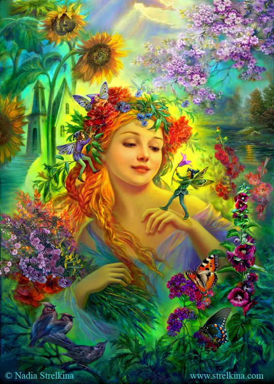 Flowers for fairy by Fantasy-fairy-angel on DeviantArt