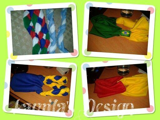 Bandanas Mundialistas by Kamila's Design