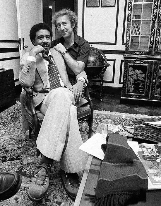 Richard Pryor and Gene Wilder: