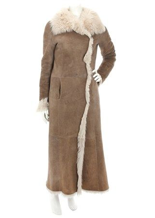 Keep warm in style this winter with this Joseph sheepskin coat ...