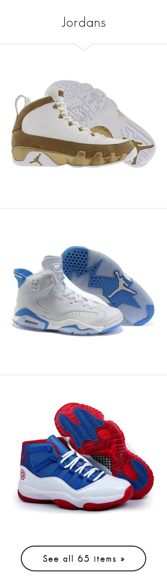 """Jordans"" by emayam54 ❤ liked on Polyvore featuring shoes, jordans, sneakers, jordan 11, kohl shoes, black polishable shoes, black pink sneakers, pink shoes, polish shoes and air jordan 4"