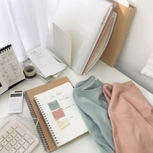Korean Fashion Style Instagram Korean Aesthetic School Supplies