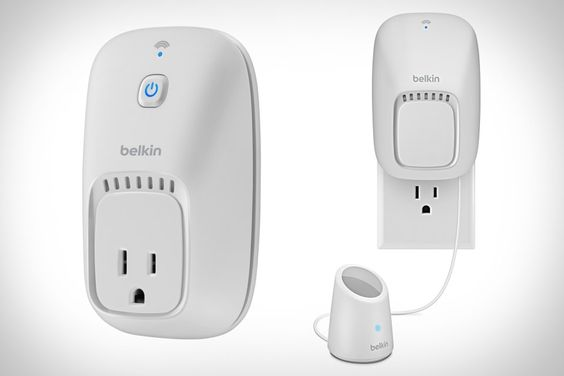 BELKIN WEMO $50-$100 Combining an app with Wi-Fi-enabled Home Control Switch models and motion sensors, WeMo can give you the power to turn off lights, appliances, and more, or have them operate automatically based on who is — or isn't — in the room.