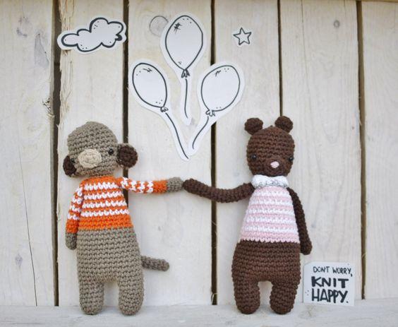 Carlitos y Carla #amigurumi  #amigurumis #crochet #handmade #Handmadewithlove #hechoamano #fetama #crochetaddict #barcelona #bcn #dwkh #dontworryknithappy