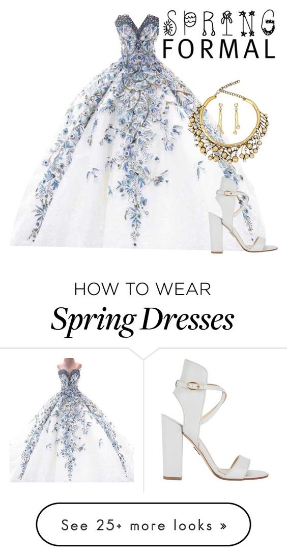"""""""Spring Formal"""" by watercolorweekend on Polyvore featuring Paul Andrew"""
