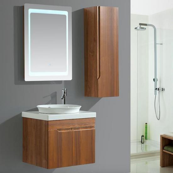 Specchio Bagno Con Led Prezzi.Mobile Bagno Sospeso Aurora Disponibile In 6 Misure Con Specchio
