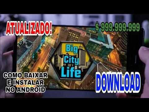 Como Baixar E Instalar Big City Life Simulator Apk Mod Dinheiro