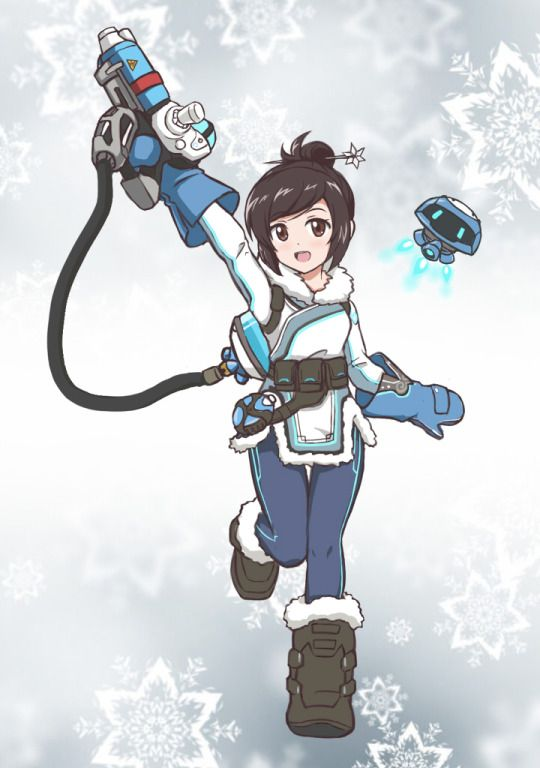 Cute Mei from Overwatch!