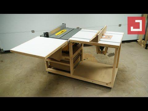 Fabrication D Un Etabli Mobile Polyvalent Ep03 Bosch Pof 1200 Youtube I 2020