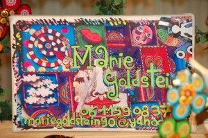 Le monde enchanté et coloré de Marie Goldstein.