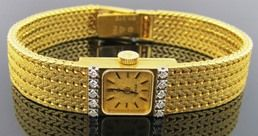 Ferro Jewelers - Watches | LADIES OMEGA WATCH WITH DIAMONDS SOLID 18K
