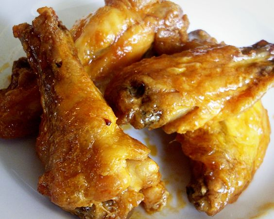 Alton Brown's crispy baked wings. steam first before baking. yes.