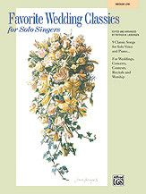 Favorite Wedding Classics for Solo Singers (Book)