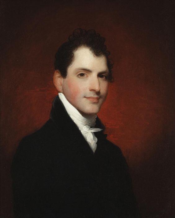 Gilbert Stuart - George Alexander Otis, 1809: