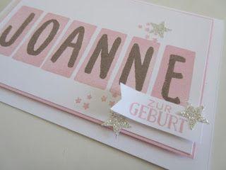 stempeltörtchen: * Joanne *