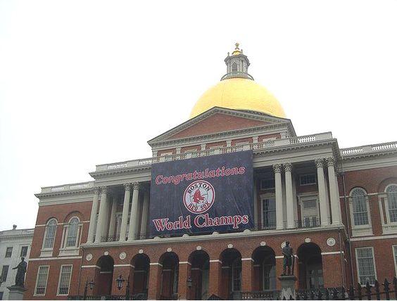 Massachusetts State House in 2004