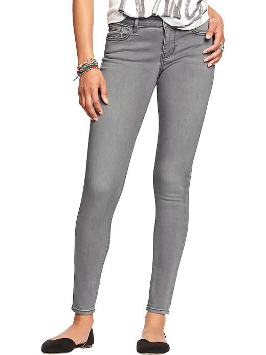 Women's The Rockstar Mid-Rise Super Skinny Jeans Product Image ...