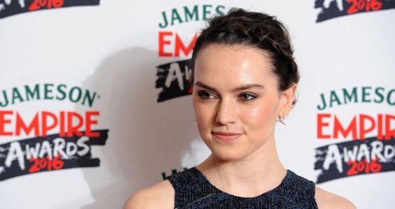 Daisy Ridley at the 2016 Jameson Empire Awards
