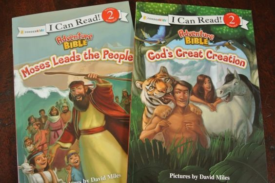 "Adventure Bible ""I Can Read"" #Books  #review #kids"