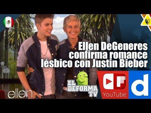 Ellen DeGeneres confirma romance lésbico con Justin Bieber