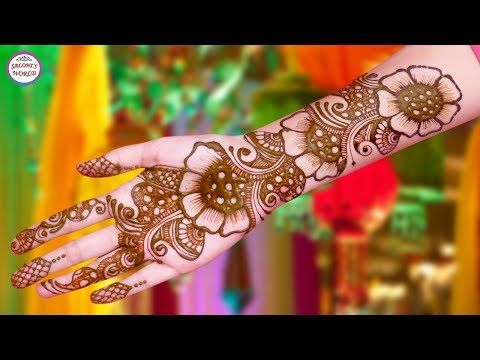 Stylish Full Hand Arabic Henna Designs Henna Tattoo Mehndi