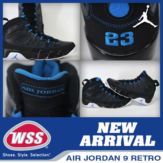 Come and get them the Air Jordan 9 Retro\u0026#39;s are here at WSS in select stores