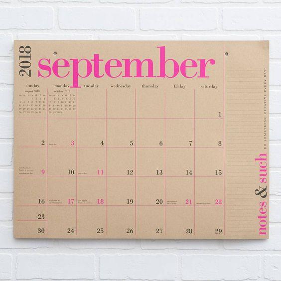 2018 2019 Great Big Calendar Command Center Big Calendar