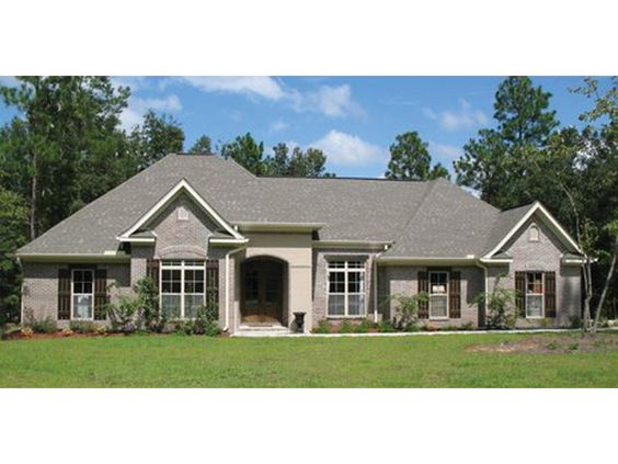 Ranch Style House Plans With Basements Curb Appeal