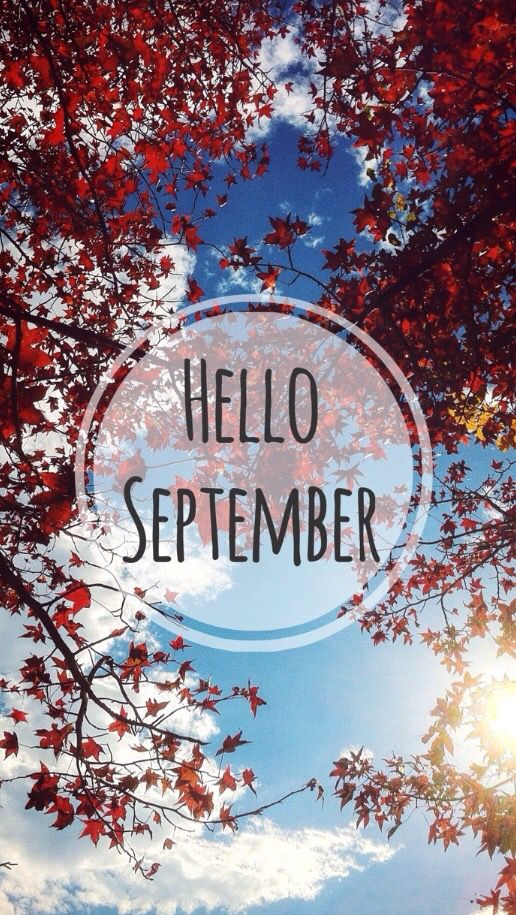 Hello september, September and Autumn on Pinterest