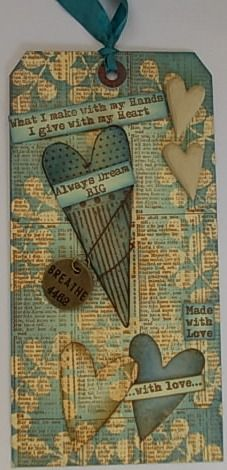Tracy Evans hearts tag