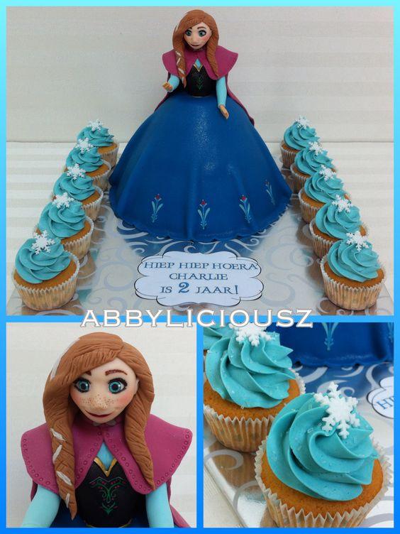 Frozen cake - Princess Anna...